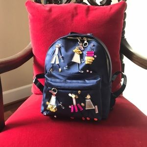 Super cute Versace back bag with glass and crystal